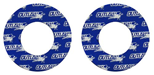 Outlaw Racing PP166BU Motorcycle ATV Mx Grip Donuts Donutz Blister Busters Dual Layer CR YZ ()