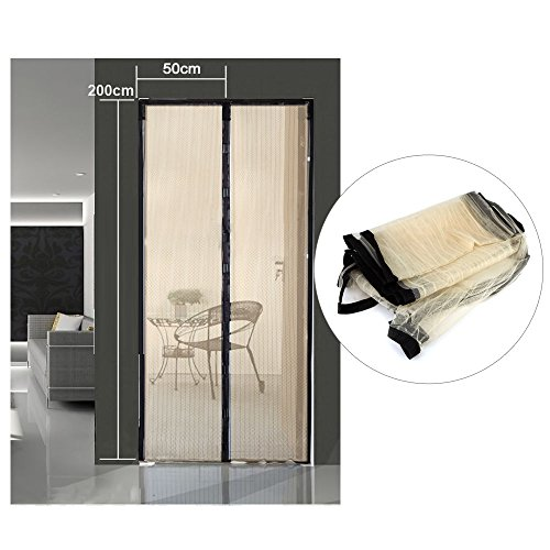 Hands Free Magic Mesh Screen Net Door with magnets Anti Mosquito Bug Curtain - Watch Station Toronto
