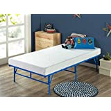 Zinus 5 Inch Memory Foam Mattress Set with Easy to Assemble Smart Base, Twin