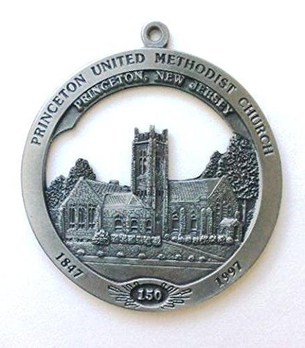 (Princeton United Methodist Church, Princeton, New Jersey 150th Anniversary (1847-1997) Christmas Ornament)