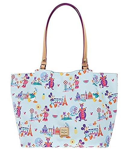 Disney Parks Epcot Exclusive Dooney & Bourke 2017 Flower & Garden Festival Shopper ()