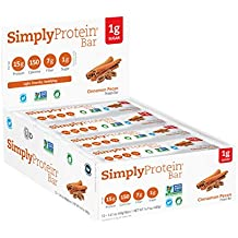 SimplyProtein Bar, Cinnamon Pecan, 12 Count