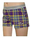 BALTIMORE RAVENS Stretch Boy Shorts Panties / Underwear for Women