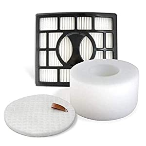 JJSS NV680 HEPA Replacement Filters Set Compatible for Shark Rotator DuoClean Powered Lift Away Speed Vacuum NV680, NV600, NV681, NV682, NV683, NV800, NV801, NV803, UV810, Filters XFF680 XHF680