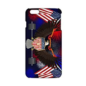 Evil-Store US flag and eagle sign 3D Phone Case for iPhone 6 plus