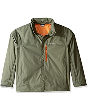 Men's Big-Tall Pouration Jacket, Cypress, 4XT!
