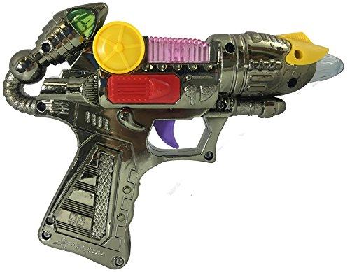 Child's Light Up Toy Space Alien Blaster Gun Weapon Costume Accessory (Light Up Alien)