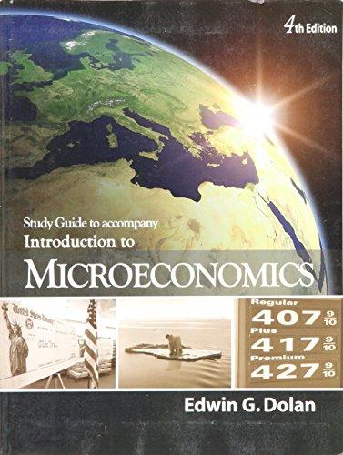 INTRODUCTION TO MICROECONOMICS-STD.GDE.