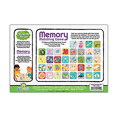 Romper Room Memory Matching Game: Toys & Games