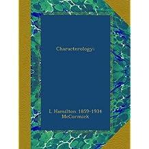 Characterology;