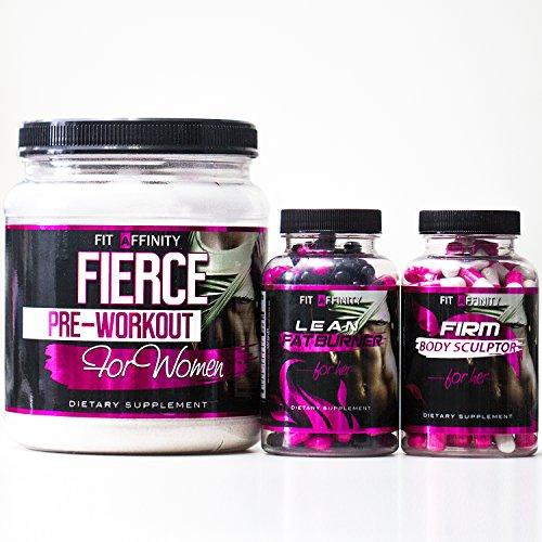 Fit-Affinity-Shape-Tone-Pre-Workout-Fat-Burner-Sculptor-For-Women-Bundle