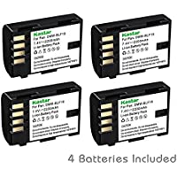 Kastar Battery (4-Pack) for Panasonic DMW-BLF19 and Panasonic Lumix DMC-GH3 Lumix DMC-GH3A Lumix DMC-GH3AGK Lumix DMC-GH3GK Lumix DMC-GH3H Lumix DMC-GH3HGK Lumix DMC-GH3KBODY Lumix DMC-GH4H Lumix DMC-GH4