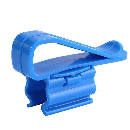 Festnight 2 unids Soporte de Manguera Multifuncional de pl/ástico Azul Tanque de Peces Acuario filtraci/ón Clip de Montaje de Cubo para 8-16 mm Tubo de Agua//Tubo