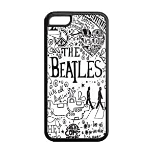 1pc Rubber Snap On Case Cover Skin For iphone 5c, The Beatles iphone 5c Covers