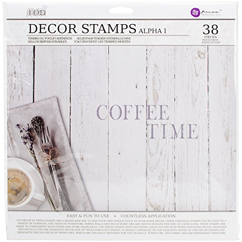 Decor Stamp - Prima Marketing IOD Decor Stamps -Alpha I