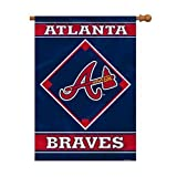 MLB Atlanta Braves House Banner, 28 x 40-Inch, Team Color