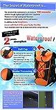 LAD WEATHER Waterproof Backpack 40L Roll top