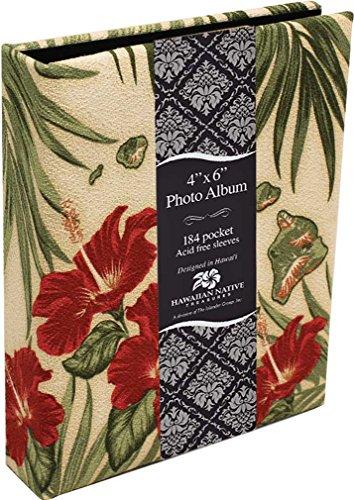 Photo Album Fabric Covered 184 View Hibiscus Island Chain