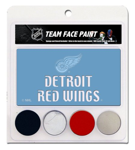 NHL Detroit Red Wings Face Paint Kit