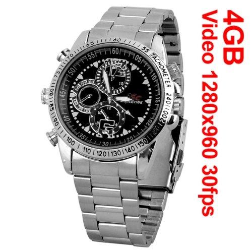 Mini Reloj Pulsera 4GB DV 960P HD Espía Grabador Video Imagen Cámara PC: Amazon.es: Bricolaje y herramientas