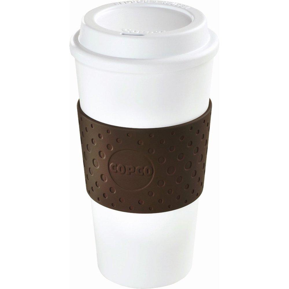 Copco Eco-First Acadia Reusable To Go Mug BPA-Free, Brown - 3-Pack 2510-9961