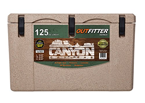 Canyon Cooler Outfitter 125qt Cooler- sandstone