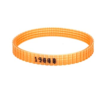 Electric Sander Drive Driving PU Belt Orange for Makita 9045