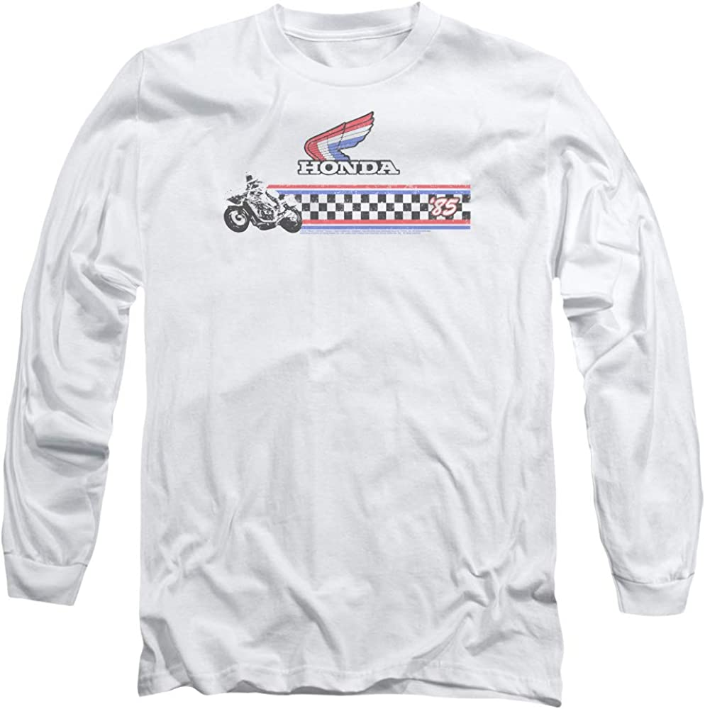 Honda Motorcycle Unisex Adult Canvas Brand T Shirt for Men and Women