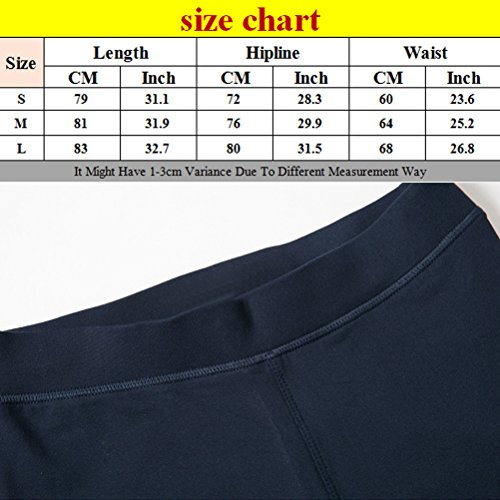Zhhlaixing Comfortable Elasticity Tights Womens Sports Workout Quick-dry Yoga Pants Black