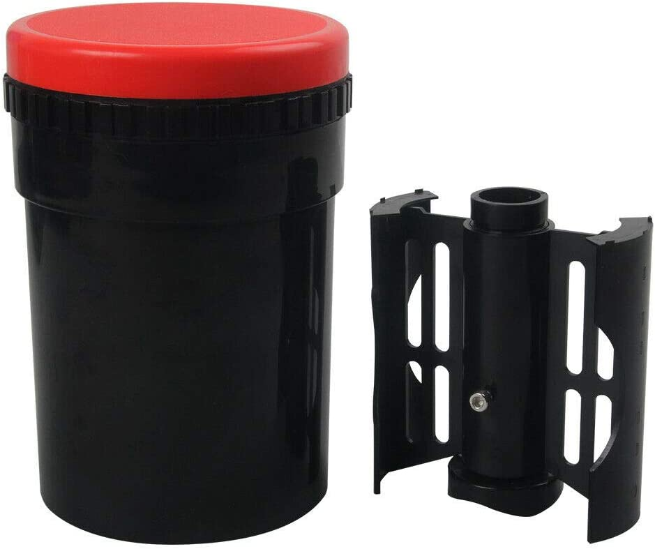 """Darkroom Compact Developing Tank with 4x5 Spiral Reel for B&W Color Film Processing Equipment 4x5"""" Large Format Camera Accessories"""
