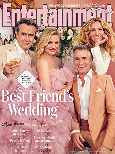 Entertainment Weekly Magazine (February 15, 2019) My Best Friends Wedding Reunion Romantic Double issue