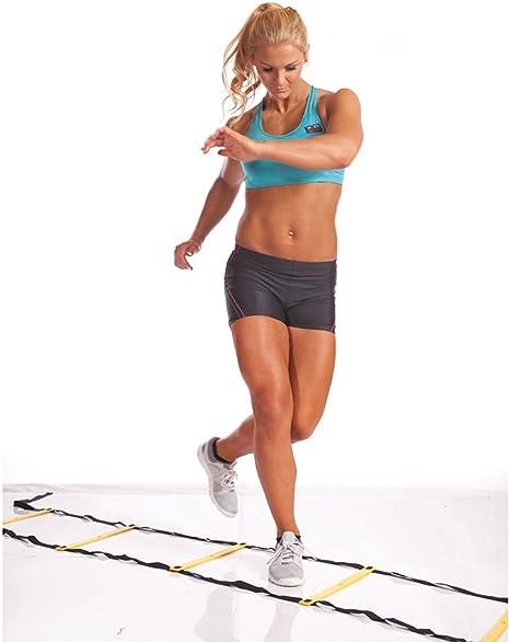 Escalera de coordinación para entrenamiento de la velocidad de alimentación BB2403 Body Sculpture: Amazon.es: Deportes y aire libre