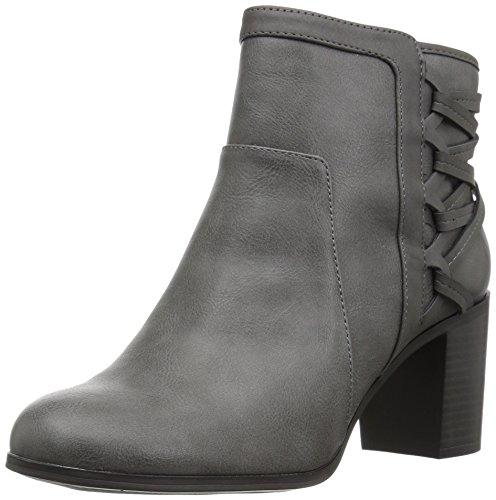 Easy Street Women's Bellamy Ankle Bootie Grey/Matte XuAxN