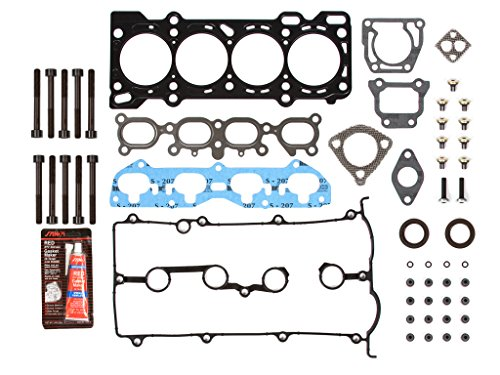 Mazda Cylinder Head (Evergreen HSHB6030 Cylinder Head Gasket Set Head Bolt)