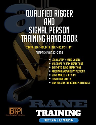 Qualified Rigger and Signal Person Training Handbook Constru