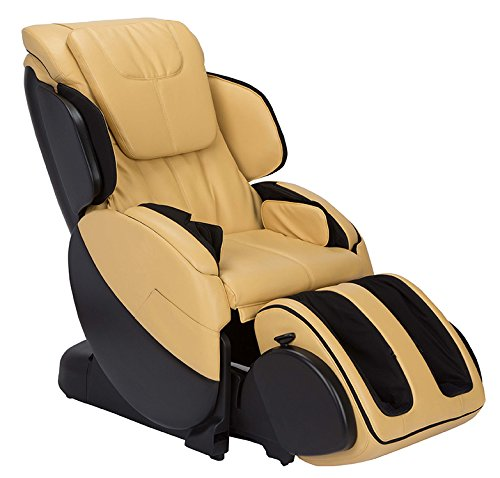 Bali Full Body Stretch and Massage Chair | Advanced 3D Rollers | LCD Easy Remote | Cloud Touch | Relaxation to Recovery Modes | Butter