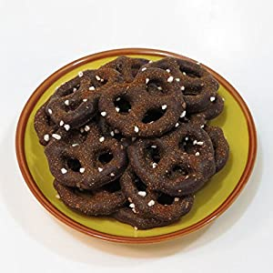 Sweet & Spicy Dark Chocolate Pretzels 1/2lb