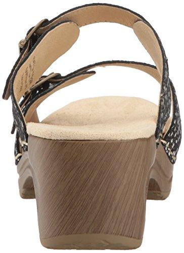 Black Women's Sandal Mule Debora Sanita Platform Paisley nPzqXwd1