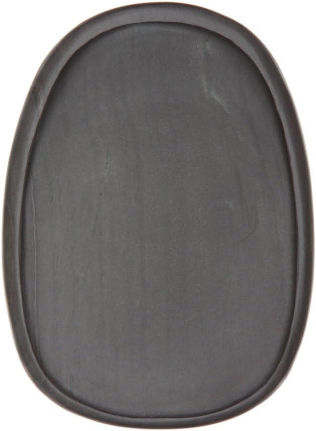 硯石 端渓硯 上麻子坑楕円型 6吋 (150×110×17mm)