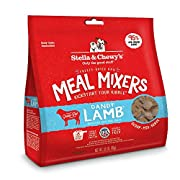 Stella & Chewy's Freeze-dried Raw Dandy Lamb Meal Mixers Grain-Free Dog Food Topper, 18 oz bag