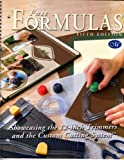 Fast Formulas Fifth Edition: Showcasing the 12-inch Trimmers and the Custom Cutting System