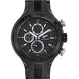 All Blacks - 680184 - Montre Homme - Quartz Analogique - Cadran Noir - Bracelet Plastique Noir