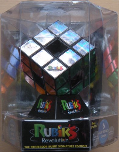 Rubik's Revolution - 6 Electronic Games! (Batteries Removed to Prevent (Rubiks Revolution Electronic)
