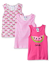 "Freestyle Revolution Big Girls' ""Watermelon"" 3-Pack Tank Tops"