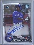 Vladimir Guerrero Jr. (Baseball Card) 2016 Bowman Chrome - Prospects Autographs #CPA-VG