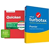TurboTax Premier 2017 with Quicken Home, Business & Rental Property 2018 27-Month Membership