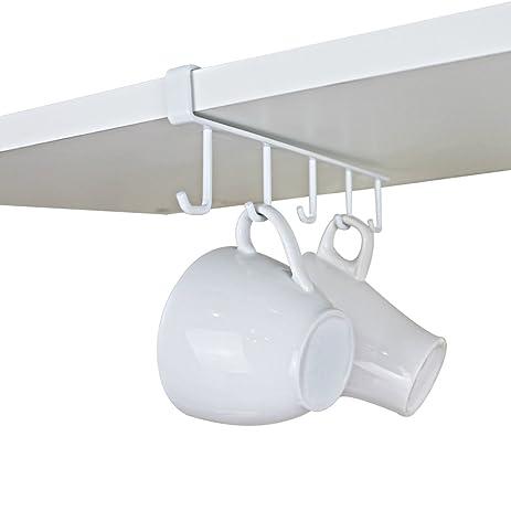 Amazon.com - GeLive Under Cabinet Coffee Mug Hook Holder Kitchen ...
