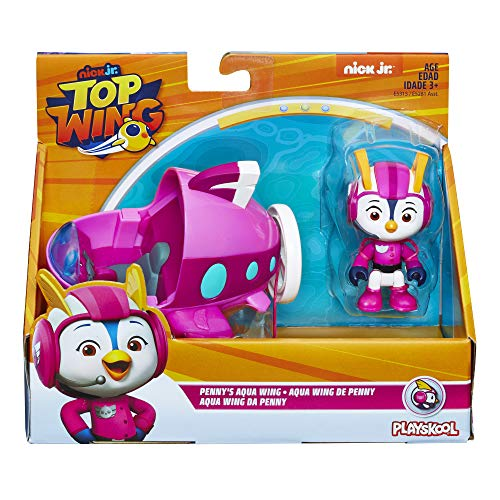 Top Wing Penny Figure & Vehicle