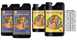 Advanced Nutrients Sensi Bloom and Sensi Grow A and B with GotHydro Conversion Chart (500 ml)
