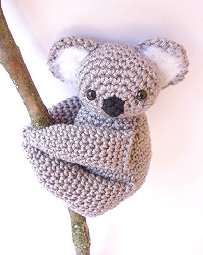 Koala stuffed animal, Koala plush, Crochet Koala, Amigurumi crochet animal